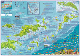 map of the bvi islands franko s fabulous maps of favorite places