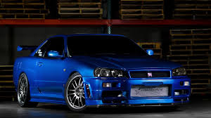 paul walkers nissan skyline drawing nissan skyline gtr r34 wallpapers group 89
