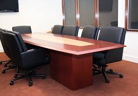 Back Painted Glass Conference Table Contemporary Arnold Contract