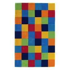 Colorful Kids Rugs by Kas Rugs Kidding Around Color Blocks Area Rug Hayneedle