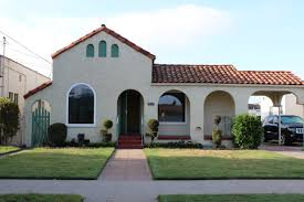 exterior spanish style homes exterior