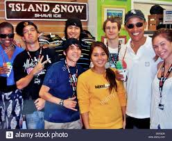 Obama Hawaii by A Picture On The Wall Of The Ice Cream Shop U0027island Snow U0027 Shows Us