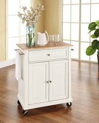 White Wooden Furniture Amazon Com Crosley Furniture Cuisine Kitchen Island With Natural