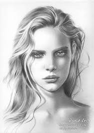 photo collection pencil drawing face