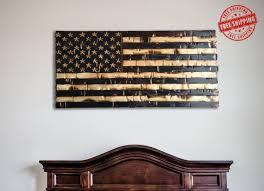 wood american flag rustic american flag distressed american