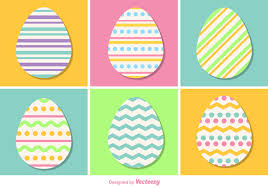 pastel easter eggs pastel color vector easter eggs free vector stock