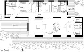 plan maison contemporaine plain pied 3 chambres plan maison de plain pied 3 chambres 5 plan maison moderne 120