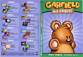 garfield and friends garfield and friends volume 3 disc 3