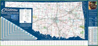 Oklahoma Map With Cities Download Map Oklahoma Cities Towns Major Tourist Attractions Maps