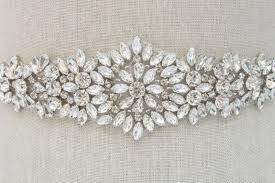 wedding dress sashes rhinestone applique wedding applique bridal sash bridal