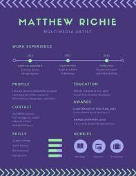 infographic resume templates canva