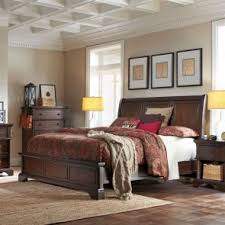 broyhill estes park 4 piece wood panel bedroom set with free