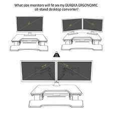 eureka ergonomic height adjustable standing desk ergonomic next generation height adjustable standing desk converter