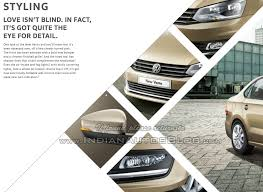 volkswagen vento colours 2015 vw vento facelift brochure reveals the changes