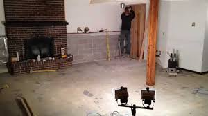 Basement Living Room by Disused Basement Living Room To Master Suite Conversion Youtube