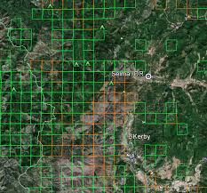 map of oregon gold mines oregon gold maps gold claims