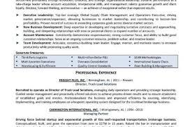 resume supply chain manager exle 100 images winesburg ohio
