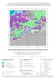 Barents Sea Map Barents Sea Ice Cover