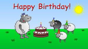 happy birthday funny animated sheep cartoon happy birthday song