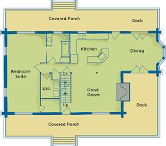 Plans For Retirement Cabin | retirement cabin floor plans by suwannee river log homes