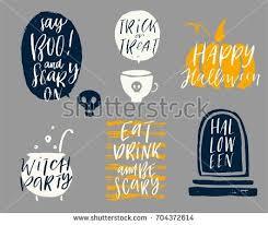happy halloween vector calligraphy download free vector art
