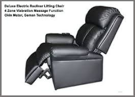 deluxe electric recliner lift chair with massage function german