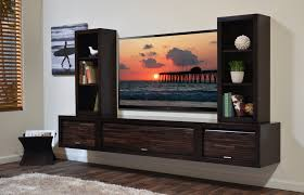 pretty contemporary living room design with low tv rack stand f
