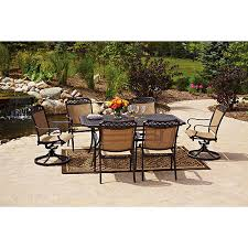 7pc Patio Dining Set Better Homes And Gardens Paxton Place 7 Patio Dining Set