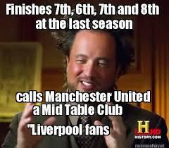 Meme Generator Alien - meme maker at the last season calls manchester united a mid