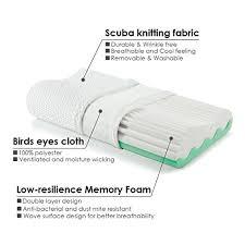 best bed pillows for neck pain jiaao sleep home memory foam pillow for neck pain jiaao orthopedic