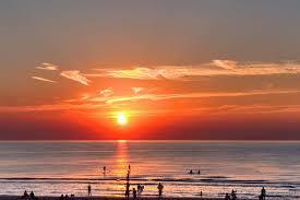 netherlands beaches map sunset zandvoort aan zee the netherlands capture