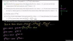 2011 calculus bc free response 6d video khan academy