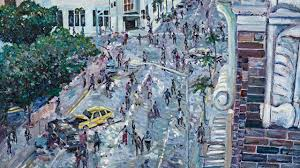 romero meets monet oil paintings of the zombie apocalypse