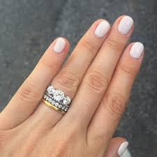 Engagement Rings And Wedding Bands by Stacked Wedding Ring Styles That U0027ll Leave You Breathless Ring