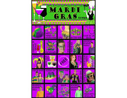 mardi gras bingo 17 best printable bar images on 21st birth 21st