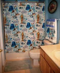 Nerdy Shower Curtain Jedi Shower Covers Star Wars Shower Curtain