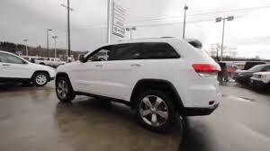 white jeep 2016 2016 jeep grand cherokee limited bright white clearcoat