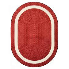 Red Rug Floors U0026 Rugs Furry Colection Circle Rug For Modern Interior