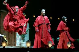 not just music review monty python live mostly o2 arena london