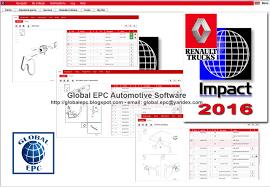 global epc automotive software renault impact 04 2016 trucks epc
