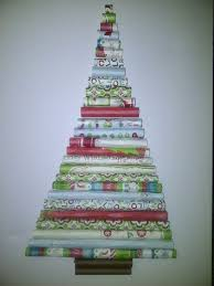 a creative and crafty inspiration rolled paper christmas tree