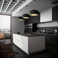Black And White Kitchens 36 Stunning Black Kitchens That Tempt You To Go Dark For Your Next