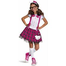 hello kitty tween nerd dress up halloween costume walmart com