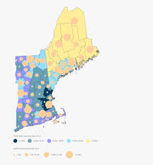 New England Map by Mapping New England Child Food Insecurity Food Solutions New