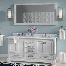 Bathroom Vanity Double Sinks Double Vanities You U0027ll Love Wayfair