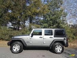jeep unlimited 2017 2017 billet silver metallic jeep wrangler unlimited sport 4x4