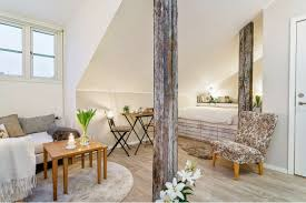 comfy gray sofa attic living room design ideas cool ceiling lamp