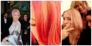 haircolor for forties 10 celebrities over 40 with cool funky hair colors