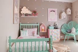 chambre bébé fille chambre bebe decoration fille visuel 3