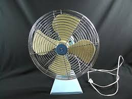 Oscillating Desk Fan by Vintage 1950 U0027s 12